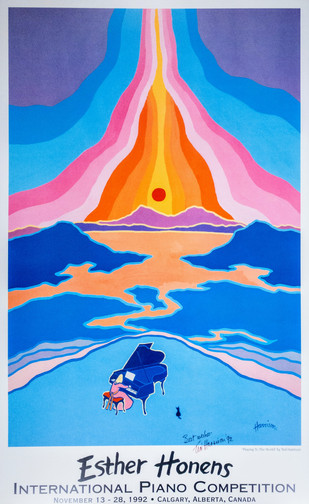 TED HARRISON POSTER