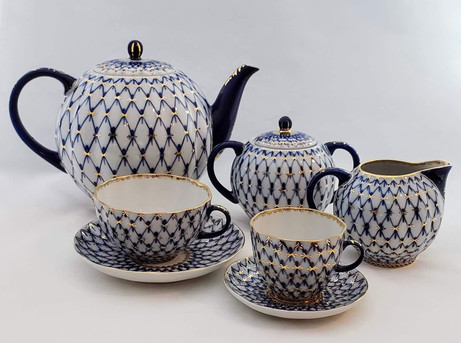 Russian Bone China Tea Service