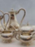 Fine Birks Sterling Silver 5 peice tea a