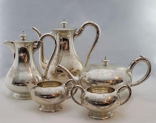 Fine Birks Sterling Silver 5 pieces