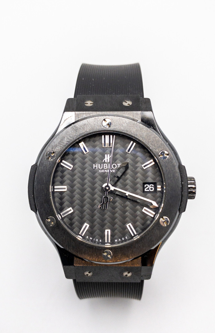 Hublot Classic Fusion Black Magic Wrist Watch