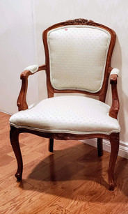 Pair of Attractive Open Arm Chairs