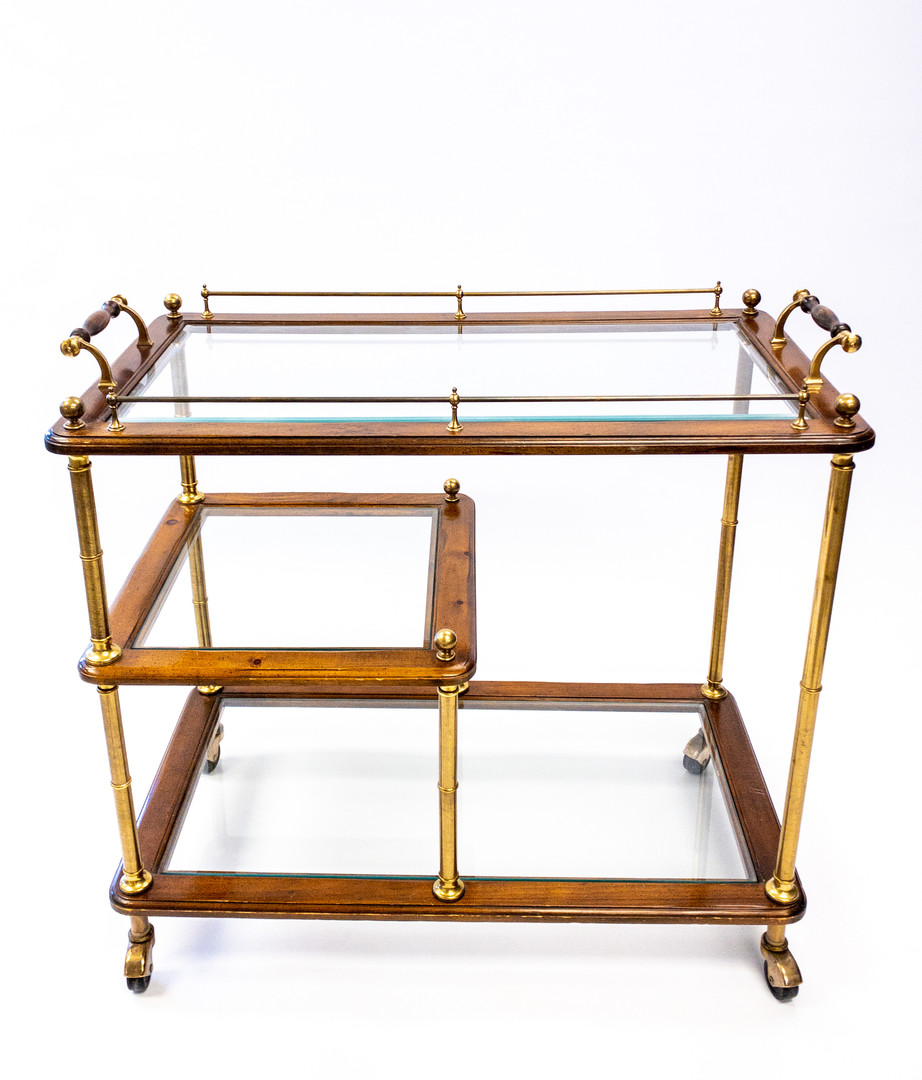Three Tier Tea Trolly