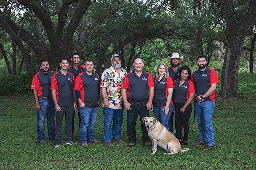 Vogt's Hometown Roofing team group photo | Boerne San Antonio roofers
