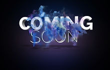 Coming Soon Text With Blast and Smoke Ef