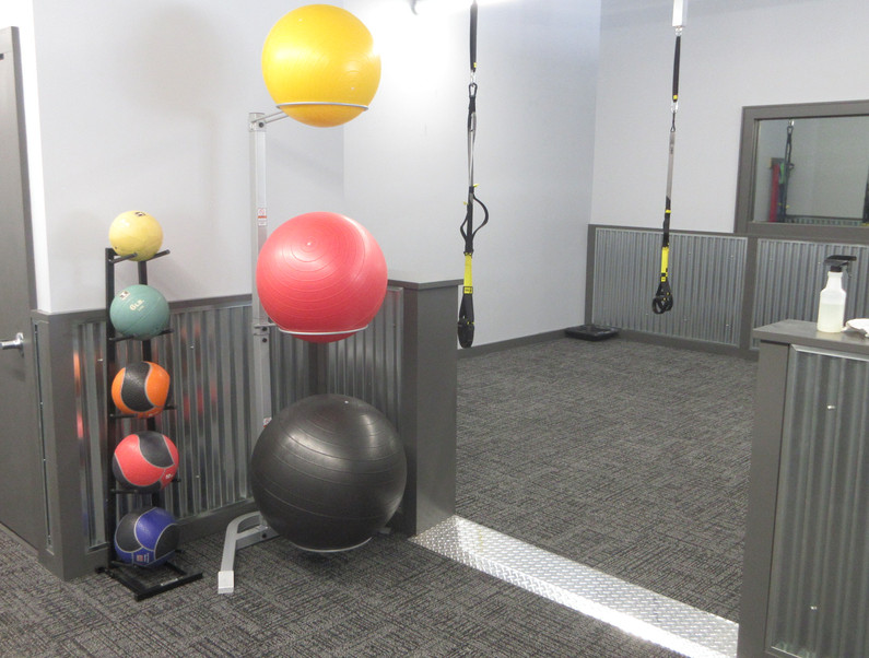 Stretching and Functional Fitness Area