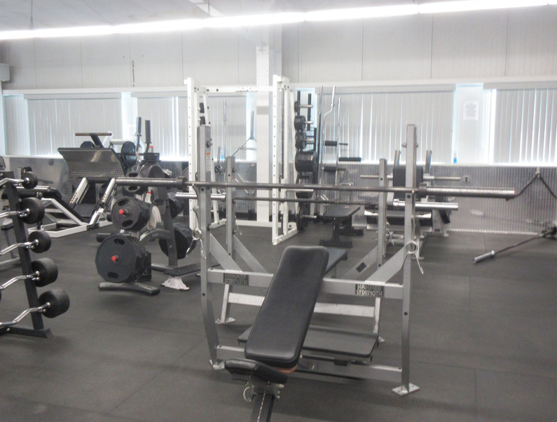Incline and Flat Benches
