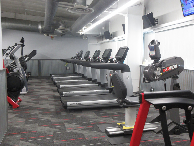 Treadmills and SciFit Bike