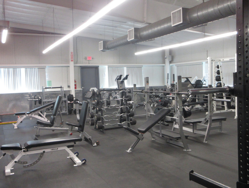 Free Weight Room Entry