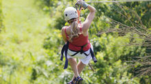 Stuck on the Zip Line: A Lesson in Momentum