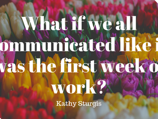Communicate Kindness