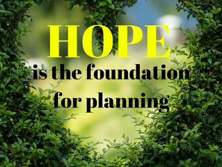 Hope and Planning