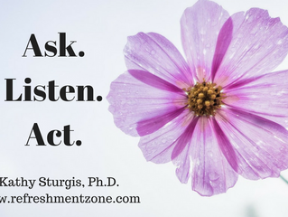 Intuition: Ask-Listen-Act
