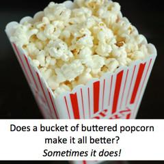 Does Popcorn Solve Problems?