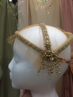Gatsby headpiece