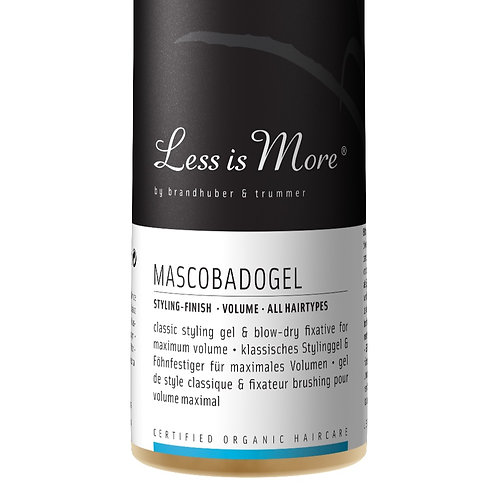 MASCOBADOGEELI - HIUSGEELI 150 ML