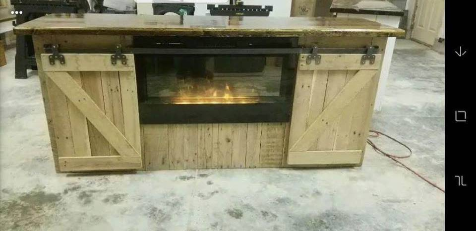Fireplace custom cabinet
