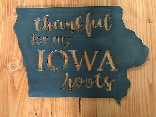 Thankful for my Iowa roots