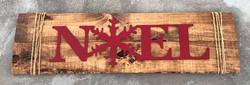 custom noel sign