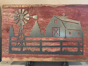 Barn scene on barn board.jpg