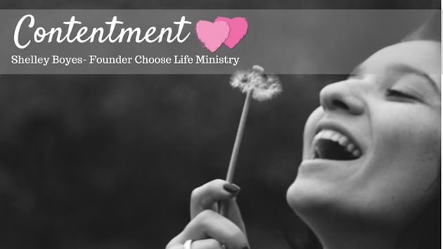 Contentment | Choose Life Ministry- women's residential