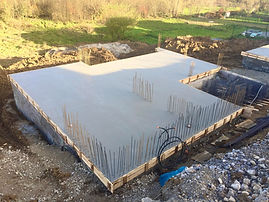 hotová základová doska základy stavieb 2