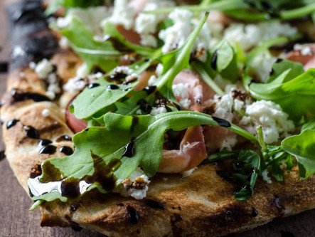 Grilled Flatbread Tuesday Nights at Marche Wine Bar.