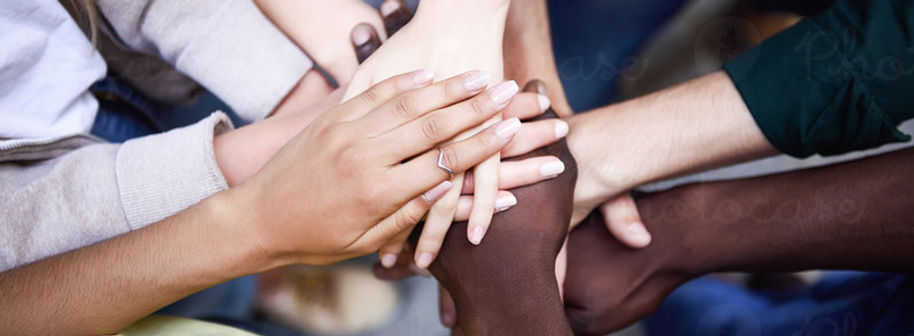 2201759-multiracial-young-people-putting