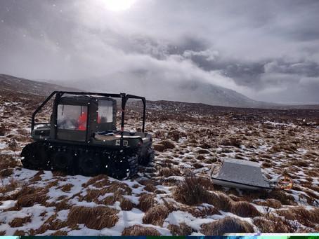 Peat Surveying by Ground Penetrating Radar in Glen Garry