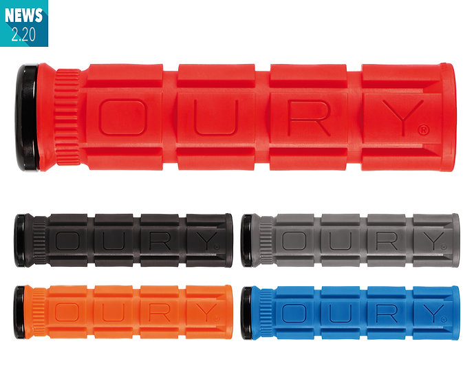 OURY GRIPS - Lock On Grips V2