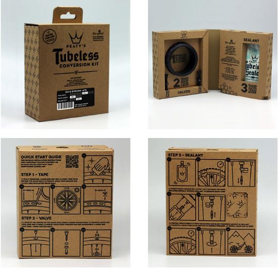 Kit de conversion TUBELESS MTB taille au choix