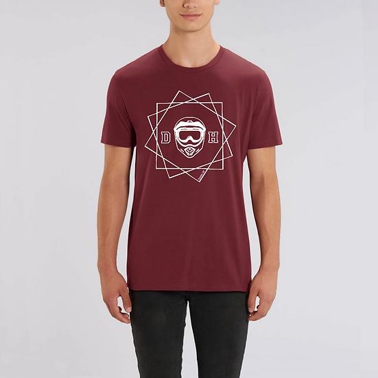 T-shirt premium COTON BIO - DH BLANC