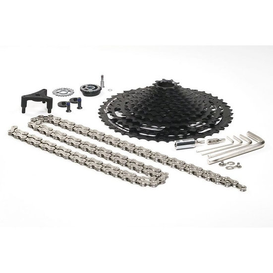 Kit Upgrade E13 12 vitesses (cassette/chaine/pièces shifter et dérailleur)