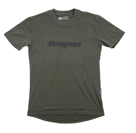 T-shirt Hope green logo