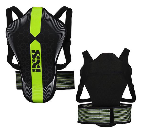Dorsale iXS RS-10 Noir-vert