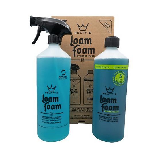 KIT Loam Foam Starter : LOAM FOAM 1L, LOAM FOAM concentré 1L