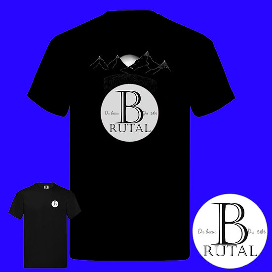 T-shirt Brutal Montagne by @yoannlmr7