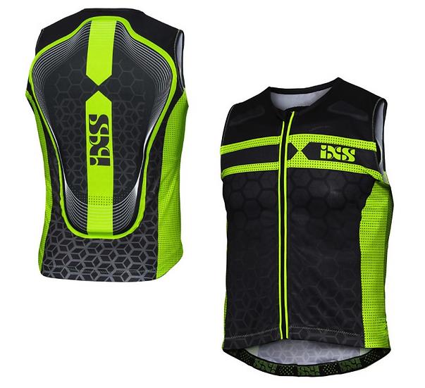 Gilet de protection iXSRS-20 noir-vert