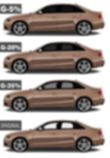 Niveles de polarización permitidos en colombia para vehículos, carros y camionetas.