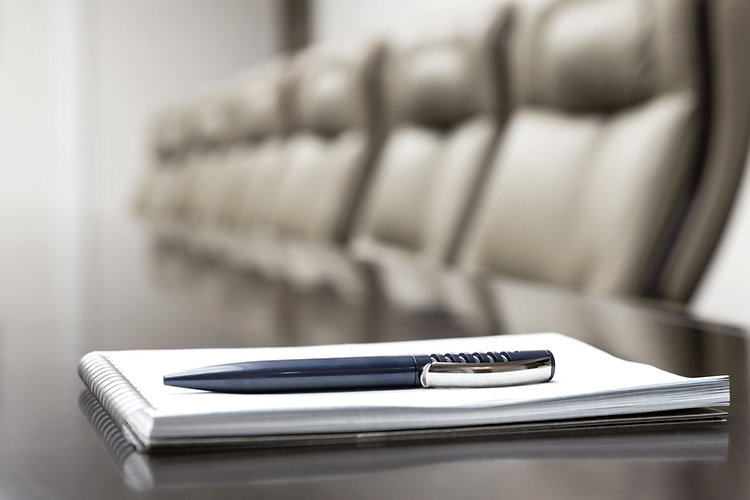 luxurious meeting room in a big corporat