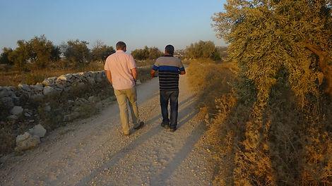 Drew H Kinney Drew Holland Kinney in Middle East West Bank Palestine Bil'in Emad Burnat Iyad Burnat