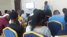 RDC : Premier atelier d'écriture à l'intention des étudiants aux éditions du Pangolin.