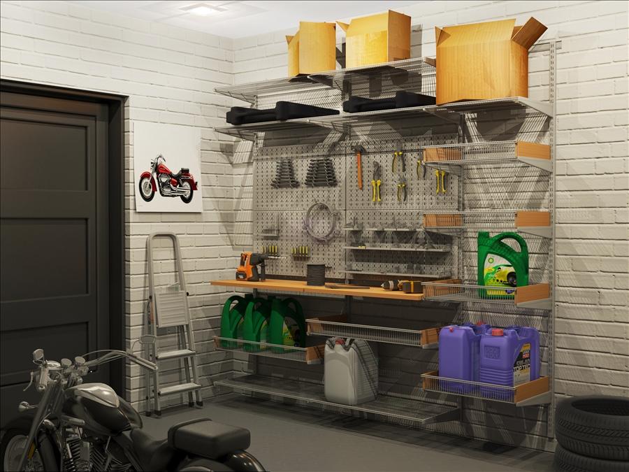 гараж система хранения