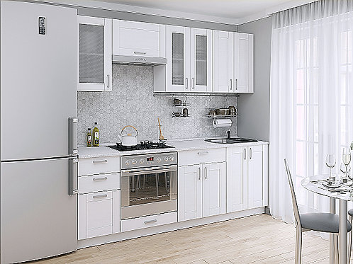 Кухонный модуль лофт 1 Snow Veralinga