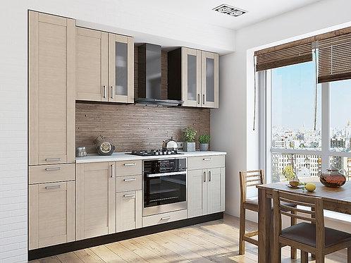 Кухонный модуль лофт 2 Cappuccino Veralinga