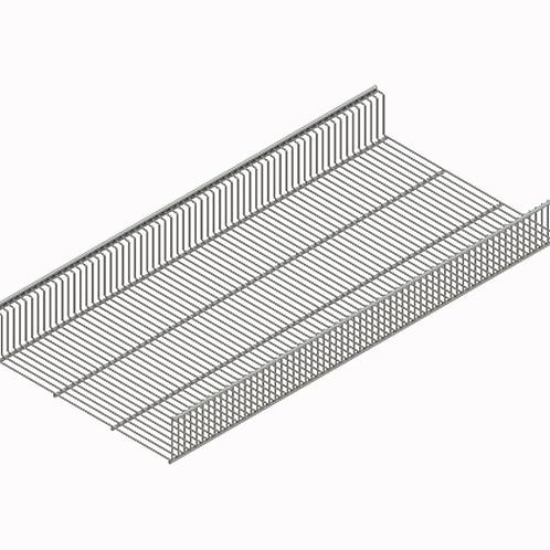 Полка-корзина проволочная 438х900мм