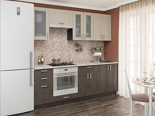 Кухонный модуль лофт 1 Cappuccino Veralinga/Wenge Veralinga