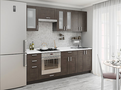 Кухонный модуль лофт 1 Wenge Veralinga