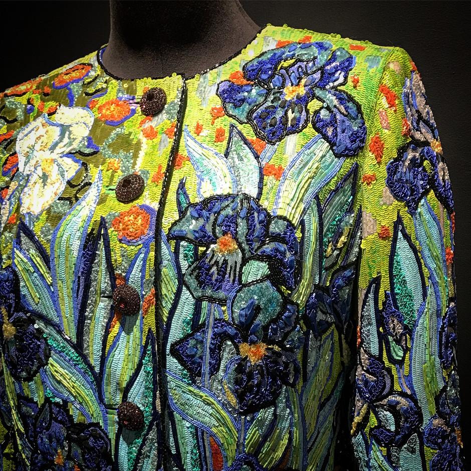 Vente de la garde-robe Haute Couture Yves Saint Laurent de Mouna Ayoub