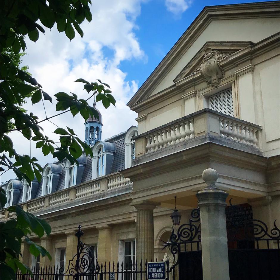 Le Château de Neuilly, ancienne résidence royale et impériale